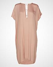 Rabens Saloner Barre Short Dress Knelang Kjole Rosa RABENS SAL R
