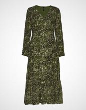 Yas Yasshannen Ls Long Dress Knelang Kjole Grønn YAS