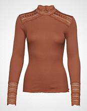 Rosemunde Silk T-Shirt Turtleneck Regular Ls T-shirts & Tops Long-sleeved Rød ROSEMUNDE