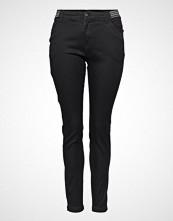 Zizzi Jeans, Long, Amy, Super Slim Slim Jeans Svart ZIZZI