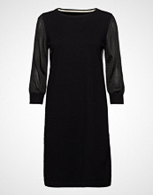 Marc O'Polo Heavy Knit Dress Knelang Kjole Svart MARC O'POLO