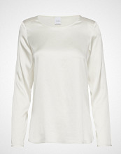 Max Mara Leisure Moldava T-shirts & Tops Long-sleeved Hvit MAX MARA LEISURE