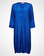 Masai Nahia Dress Knelang Kjole Blå MASAI