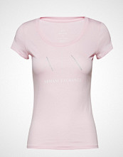 Armani Exchange Woman Jersey T-Shirt T-shirts & Tops Short-sleeved Rosa ARMANI EXCHANGE