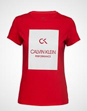 Calvin Klein Performance Short Sleeve Tee, 00 T-shirts & Tops Short-sleeved Rød CALVIN KLEIN PERFORMANCE