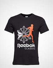 Reebok Classics Cl R Unisex Tee T-shirts & Tops Short-sleeved Svart REEBOK CLASSICS