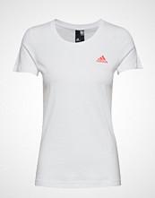 Adidas Performance Gradient Id Tee T-shirts & Tops Short-sleeved Hvit ADIDAS PERFORMANCE