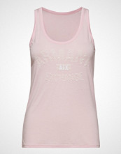 Armani Exchange Woman Jersey Tank T-shirts & Tops Sleeveless Rosa Armani Exchange