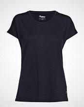 Bergans Oslo Wool W Tee T-shirts & Tops Short-sleeved Svart BERGANS