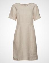 Noa Noa Dress Short Sleeve Kort Kjole Creme NOA NOA