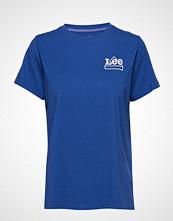 Lee Jeans Mini Logo T T-shirts & Tops Short-sleeved Blå LEE JEANS