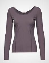 Filippa K Soft Sport Double-Scoop Top T-shirts & Tops Long-sleeved Svart FILIPPA K SOFT SPORT