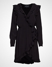 DESIGNERS, REMIX Nini Wrap Dress Kort Kjole Svart DESIGNERS, REMIX