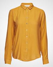 American Vintage Dorabird Langermet Skjorte Gul AMERICAN VINTAGE
