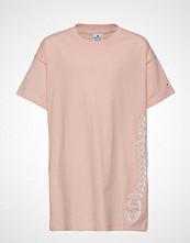 Cènnìs Maxi T-Shirt T-shirts & Tops Short-sleeved Rosa CHAMPION