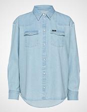 Wrangler Western Shirt Langermet Skjorte Blå WRANGLER