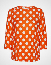 Fransa Besoft 1 Blouse Bluse Langermet Oransje FRANSA