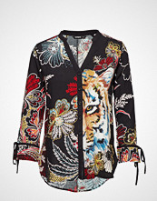 Desigual Cam Peacock Bluse Langermet Multi/mønstret DESIGUAL