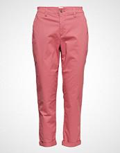 GAP V-Girlfriend Khaki Bukser Med Rette Ben Rosa GAP