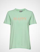 B.Young Bypandina Happy Tshirt - T-shirts & Tops Short-sleeved Grønn B.YOUNG