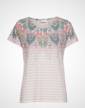 Gerry Weber T-Shirt Short-Sleeve T-shirts & Tops Short-sleeved Multi/mønstret GERRY WEBER
