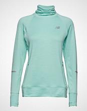 New Balance Nb Heat Pullover T-shirts & Tops Long-sleeved Grønn NEW BALANCE
