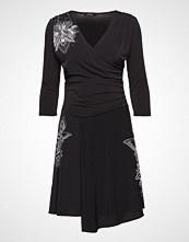 Desigual Vest Alison Knelang Kjole Svart DESIGUAL