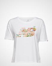 New Balance Sweet Nectar Nb T T-shirts & Tops Short-sleeved Hvit NEW BALANCE