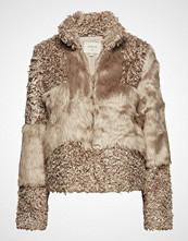 Cream Cassie Fur Jacket Jakke Beige CREAM