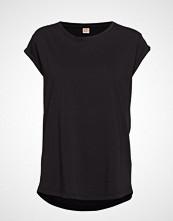 Custommade Connie Organic T-shirts & Tops Short-sleeved Svart CUSTOMMADE