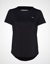Röhnisch Deep Back Tee T-shirts & Tops Short-sleeved Svart RÖHNISCH
