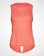 Röhnisch Open Back Singlet T-shirts & Tops Sleeveless Rosa RÖHNISCH