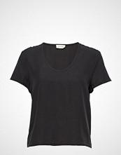 American Vintage Nalastate T-shirts & Tops Short-sleeved Svart AMERICAN VINTAGE