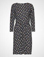 Gant D1. Aop Jersey Dress Knelang Kjole Blå GANT