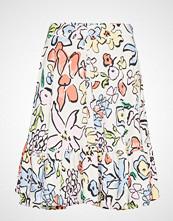 Stine Goya Toy, 633 Flowers Poly Knelangt Skjørt Multi/mønstret STINE GOYA