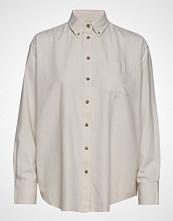 Gant D2.Winter Faded Flannel Exb Shirt Langermet Skjorte Hvit GANT