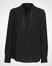 Marciano by GUESS Taylor Weaved Chain Top Bluse Langermet Svart MARCIANO BY GUESS