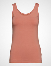 Soft Rebels Elle Tanktop T-shirts & Tops Sleeveless Brun SOFT REBELS