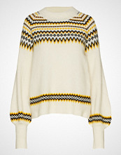 Just Female Svan Knit Strikket Genser Creme JUST FEMALE