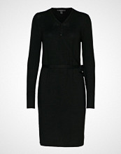 Esprit Collection Dresses Flat Knitted Strikket Kjole Svart ESPRIT COLLECTION
