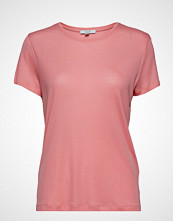 Dagmar Upama T-shirts & Tops Short-sleeved Rosa DAGMAR
