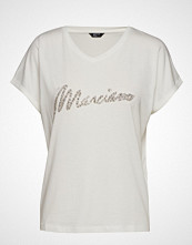 Marciano by GUESS Crystal Logo Tee T-shirts & Tops Short-sleeved Hvit MARCIANO BY GUESS