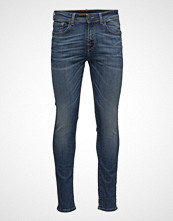 Selected Homme Shnslim-Leon 1435 D. Blue St Jeans Noos Slim Jeans Blå SELECTED HOMME