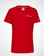 Cènnìs Crewneck T-Shirt T-shirts & Tops Short-sleeved Rød CHAMPION