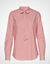 Gant D1. Tp Bc Striped Bow Blouse Langermet Skjorte Rosa GANT