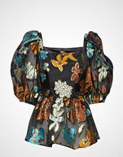 Stine Goya Irene, 637 Organza Bluse Kortermet Multi/mønstret STINE GOYA