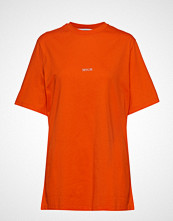 MSGM T-Shirt T-shirts & Tops Short-sleeved Oransje MSGM