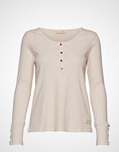 Odd Molly Side Step Top T-shirts & Tops Long-sleeved Rosa ODD MOLLY