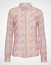 Modström Oprah Print Shirt Langermet Skjorte Oransje MODSTRÖM
