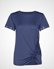 Röhnisch Knot Tee T-shirts & Tops Short-sleeved Blå RÖHNISCH